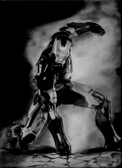 Iron Man por dnieltsk